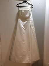 davids bridal wedding dress size 16w