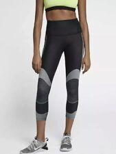 Nike Power Zonal Strength Crops Training Pants High-rise 890672 Black Size Xl