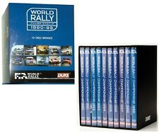 WRC 1990-1999 FIA WORLD RALLY CHAMPIONSHIP 1990s 90's - x10 NEW DVD BoxSet
