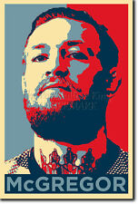 CONOR MCGREGOR PHOTO PRINT POSTER CADEAU (OBAMA HOPE INSPIRÉ)