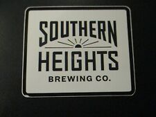 SOUTHERN HEIGHTS BREWING Austin Texas STICKER decal craft beer brewery