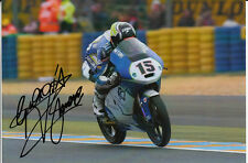 Giulian Pedone Hand Signed Ambrogio Next Racing 7x5 Photo Moto3.