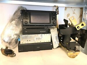 BMW OEM E39 M5 5 Series Professional SAT NAV SET 16.9 Screen MK3 BM24 TV Cables