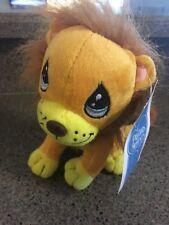 Precious Moments Plush Orange Gold Yellow Lion. Collectible Stuffed Animal Kids
