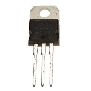 BD911 NPN Power Transistors 15A - 90W, ST, Pack of 2