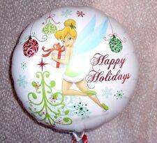 "18"" FOIL BALLOON CHRISTMAS XMAS HAPPY HOLIDAYS TINKERBELL"