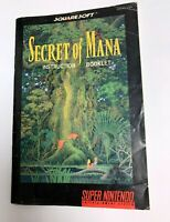 Secret of Mana - Instruction Booklet / MANUAL ONLY (Super Nintendo - SNES)