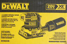 NEW - DeWALT DCW200B 20V MAX XR Burshless 1/4