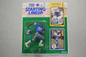 Barry Sanders 1990 NFL Starting Lineup Action Figure BZ033