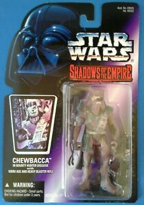 Star Wars Chewbacca in Bounty Hunter Disguise, Shadows of the Empire purple card
