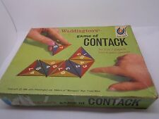 VINTAGE WADDINGTONS GAME OF CONTACK 2 TO 7 PLAYERS 8 YEARS UP (REF48.)