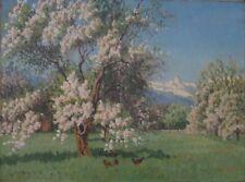 Frühling in den Bergen, Lonny von Plänckner, Impressionist