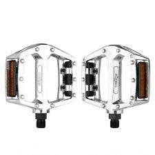"""bike pedals  9/16"""" (0.56"""") x 20 tpi 14.28 x 1.27 mm WELLGO BMX mountian tourer"""