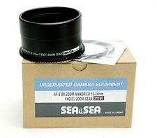 Sea & Sea Zoom Gear For Nikon AF-S DX Lens 4/12-24mm G ED IF. Part # 31107. NEW.