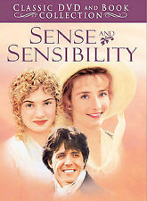 Sense and Sensibility (DVD, 2004, Classic DVD and Book Collection)