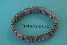 Vintage Tiffany & Co 925 Mesh Bracelet
