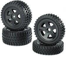 Räder (Carson) Reifen/Felge All Terrain, verklebt,1:10 Off-Road,  2WD, 4 St.