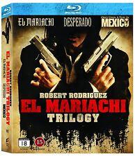 El Mariachi Trilogy 3-Movie Blu Ray (Region Free)
