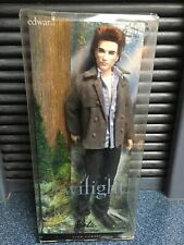 Twilight Edward Cullen Barbie doll NEW IN PACKAGE Pink Label Collector NIP