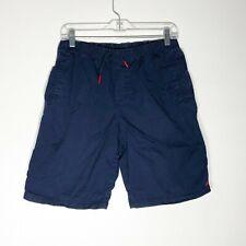 Polo By Ralph Lauren Shorts Boys XL 18-20 Navy Blue Pull On Cotton Elastic Waist