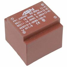 0-12V 0-12V 0.6VA 230V Trasformatore incapsulato PCB