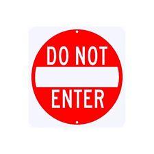 """Do Not Enter Sign 24"""" x 24"""" Municipal Grade D.O.T. Street Road R5-1RA16RK"""