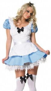 LADIES ALICE IN WONDERLAND COSTUMES ALICE MAD HATTER