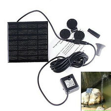 Hot Sale Durable Solar Powered Submersible Pump Fountain Garden Floating Water