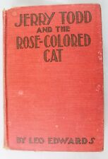 JERRY TODD and the ROSE-COLORED CAT by Leo Edwards - HC Copyright 1924