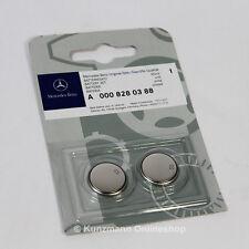 Batteriesatz 2er Set 3V CR2025 Schlüsselbatterie Original Mercedes-Benz NEU
