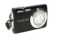 Nikon CoolPix S220 Black 10.0MP Digital Camera 2.5 LCD 3X Zoom Camera Only