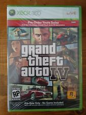 Grand Theft Auto Iv 4 Promo Pre-Order Bonus Gamer Pics Xbox 360 Brand New Sealed