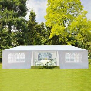 Party Tent 10'x30' Outdoor Gazebo Canopy Tent Wedding With 8 Removable Walls 8