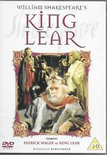 KING LEAR (PAL UK IMPORT DVD) Thames Shakespeare Collection - BBC PATRICK MAGEE