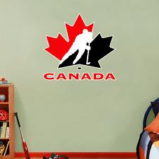 """Canada Hockey Association NHL Hockey Wall Decor Sticker Decal 23"""" x 22"""""""