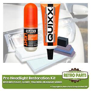 Headlight Restoration Repair Kit for Mazda MX-5. Cloudy Yellowish Lens