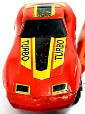 Vintage Kidco Burnin Key Cars Chevy Corvette Orange w Black & Yellow w Power Key