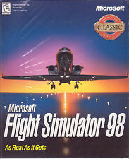 PC Game:  MICROSOFT FLIGHT SIMULATOR 98 - Brand New - Flying Simulation Game
