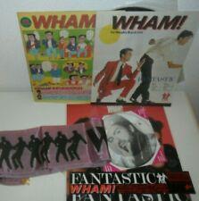 George Michael Picture Disc WHAM! Japanese Fantastic Vinyl LP 1983 Japan Banner
