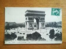 CPA - Années 20 PARIS ARC DE TRIOMPHE