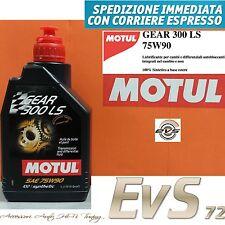 Motul GEAR 300 75W90 LS Olio Cambio Trasmissione Differenziale Autobloccante GL5