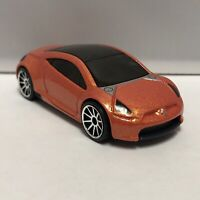 Hot Wheels Orange Mitsubishi Eclipse Concept Car 1:64 Scale Toy Diecast Mattel