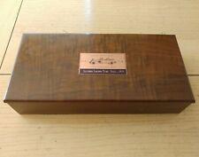 RARE 1958 CLASSIC CAR CLUB of AMERICA WALNUT WOOD BOX PENS PENCILS ANTIQUE AUTO