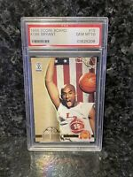 KOBE BRYANT ROOKIE RC 1996 SCORE BOARD BK  ROOKIE #15 PSA 10 GEM MINT 🔥 RARE RC