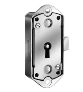 Meroni M98BT Rim Dead Lock Cabinet Office Furniture Locker Cupboard Locks