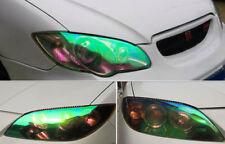 CHAMELEON CAR SUV HEADLIGHT TAIL LIGHT VYNIL LAMP TINT FILM 12IN x 30FT GREEN