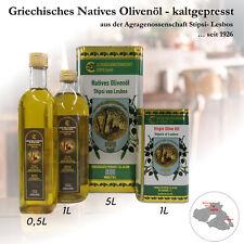 Griechisches Olivenöl natives Stipsi-Lesbos 2x5l (10 l) Kaltgepresst Ernte 2019