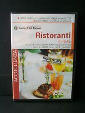 RISTORANTI IN ITALIA [cd-rom, nuovo]