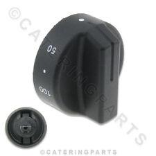 Friggitrice Termostato Manopola di controllo tipo PUSH in EGO 0 60 200 50mm per 6mm 4.6mm Albero