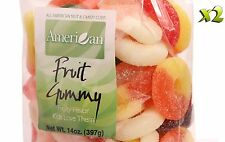 28oz Gourmet Style Bags of Chewy Fruit Gummies [1 3/4 lb.]